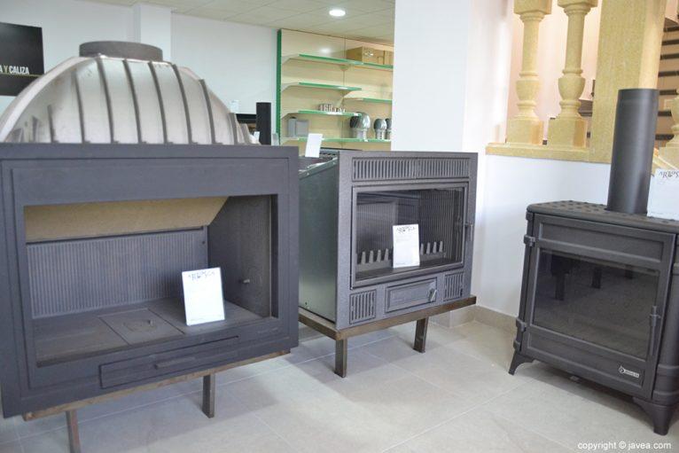 Diferentes modelos y estilos de chimeneas en ARTOSCA