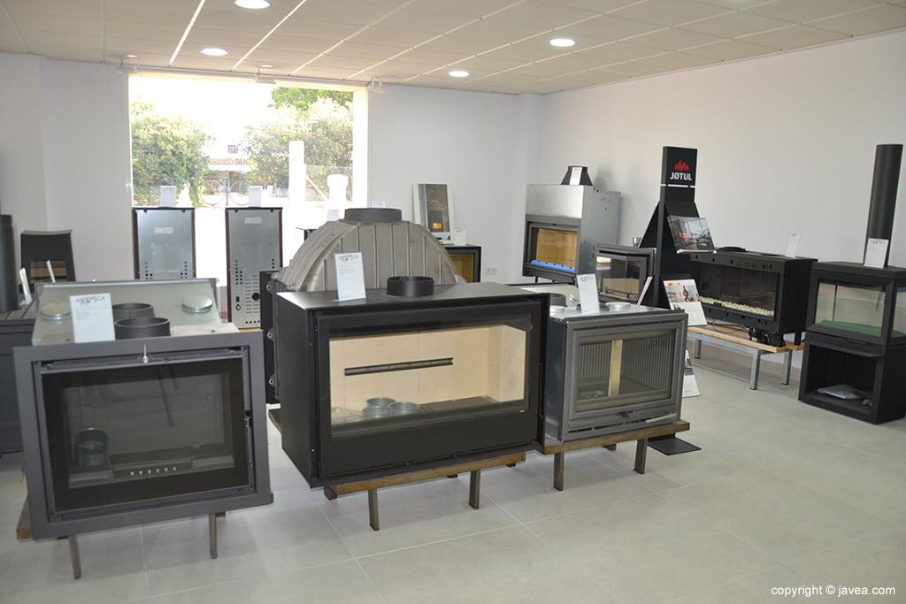 Exposición de chimeneas en ARTOSCA