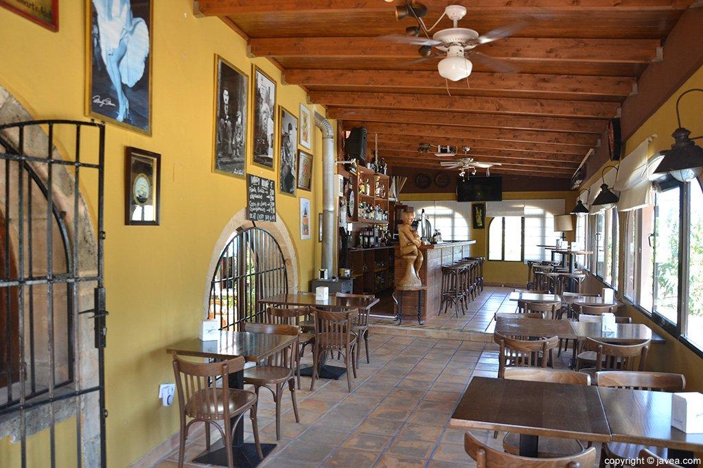 Interior Restaurante Montevideo