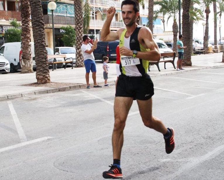 José Manuel García ganador de la carrera