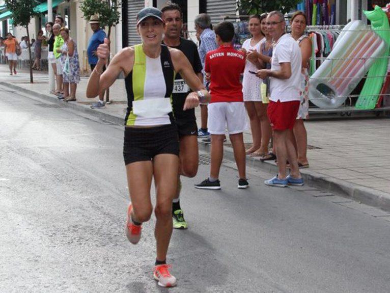 Mª Isabel Ferrer ganadora de la carrera Peña La Bufa
