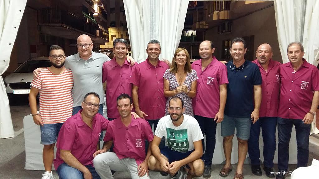 Miembros de la comisión de fiestas Mare de Déu de Loreto