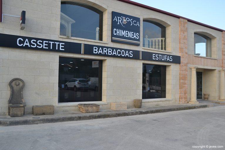 Nueva tienda de chimeneas y estufas en ARTOSCA