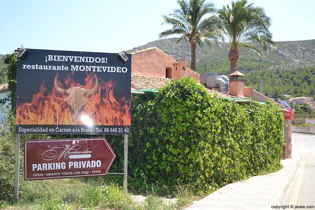 Restaurante Montevideo entrada