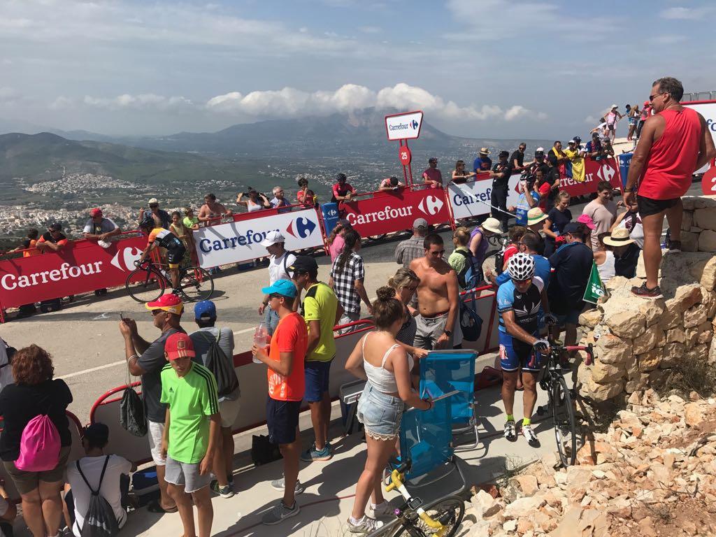 Seguidores de la Vuelta Ciclista a España