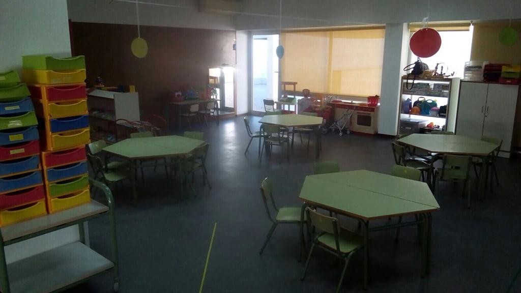 Aula del Colegio Arenal