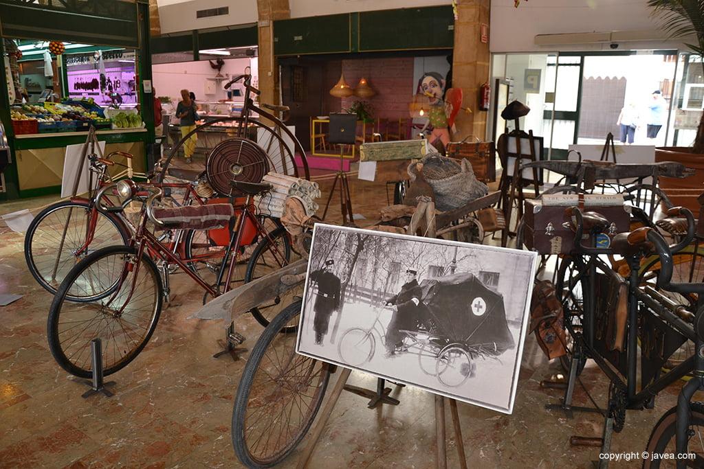 Exposición de bicis clásicas y antiguas