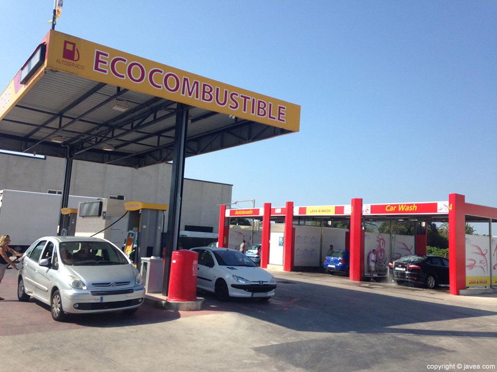 Exterior Gasolinera Ecocombustible