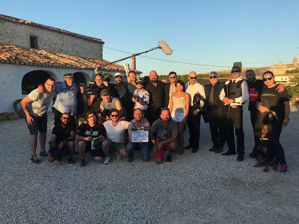 Grabación de la película Rural Cops