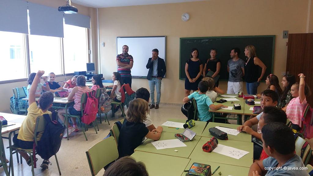 Inauguración del curso en el Colegio Port de Xàbia