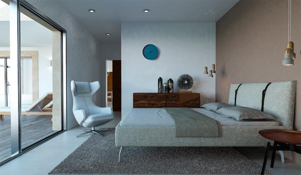 Luminoso dormitorio Lucas Graf