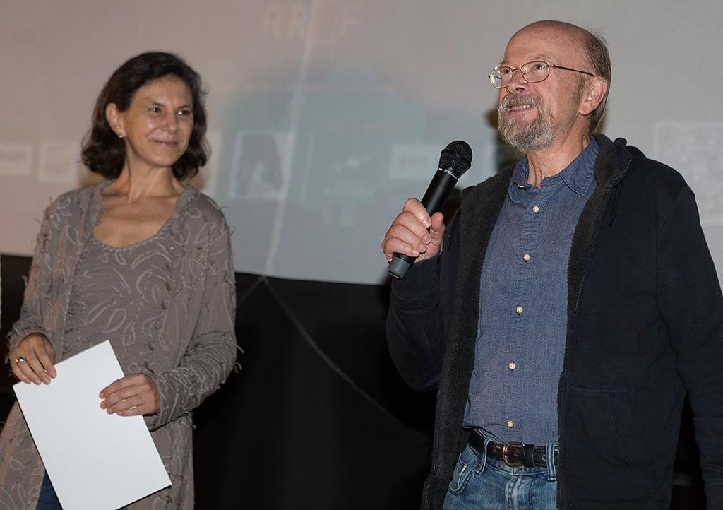 Marta Lorenzi y Rainer Brockhaus, Ganadores del premio RRFF Escola de Cinema Riurau