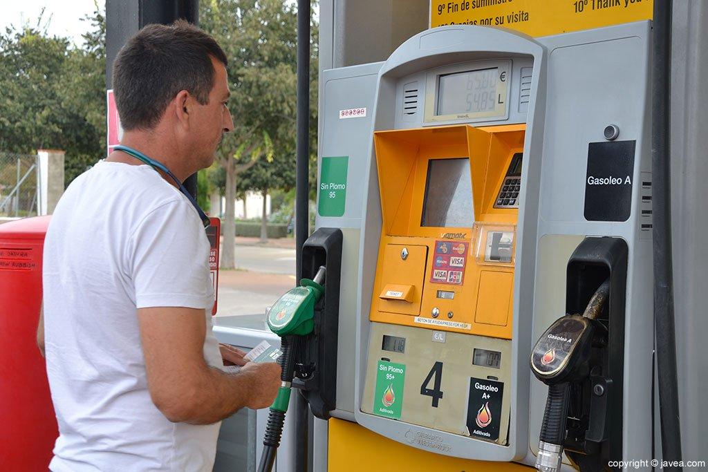 Pago Gasolinera Ecocombustible