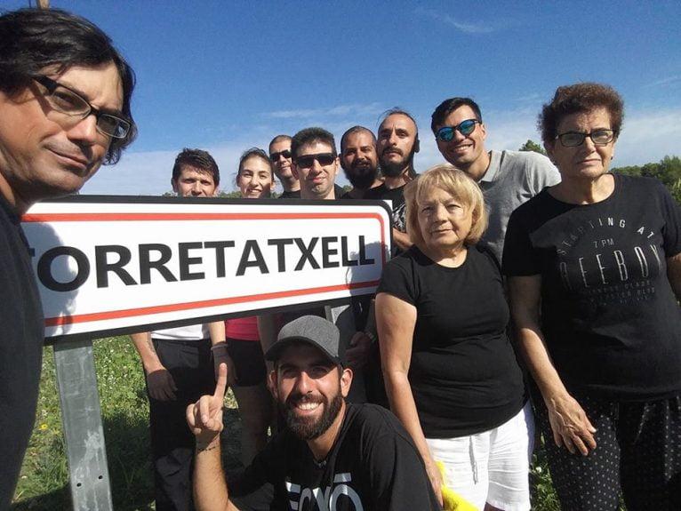 Grabación de la película Rural Cops en Benitatxell
