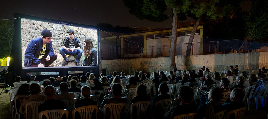 Proyecciones del Riurau Film Festival