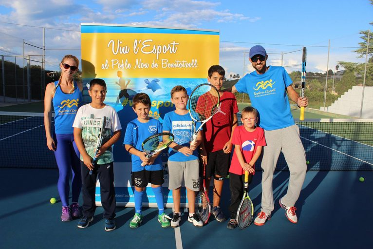 Alumnes de l'Escola de Tennis