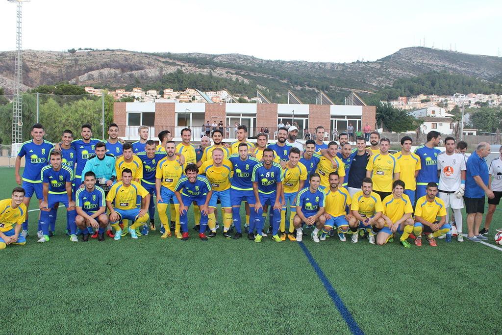CF Benitatxell juntament amb el CD Dénia