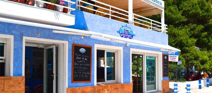 Entrada Restaurante Sur