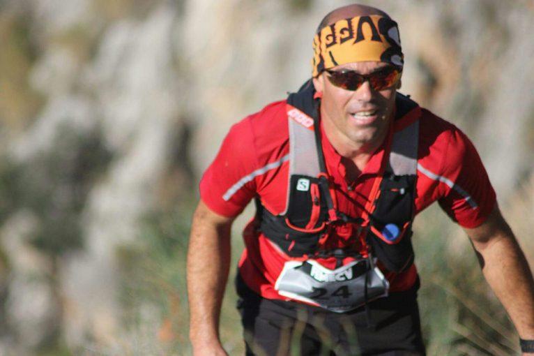 Miguel Bisquert durante la carrera