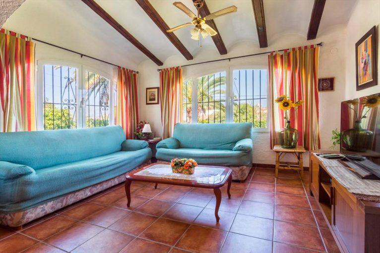 Sala d'estar de la casa Àguila Rent a Vila