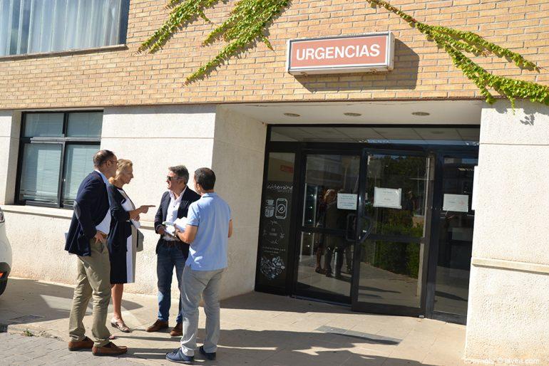 Visita de Conselleria al Centro de Salud Jávea