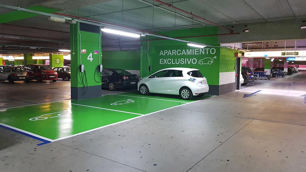 Portal de la Marina incorporates chargers for electric ...