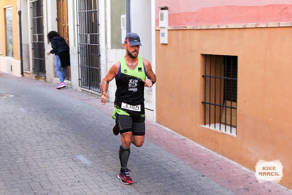 José Antonio Cecilia en las calles de Ondara