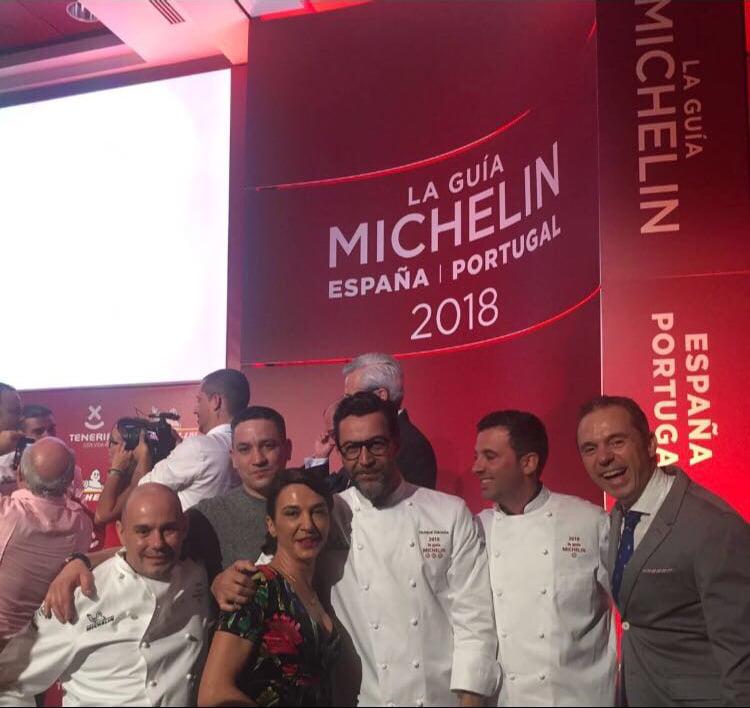 Los chefs de Estrella Michelín