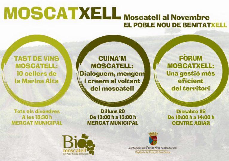 Programación de Moscatxell al novembre