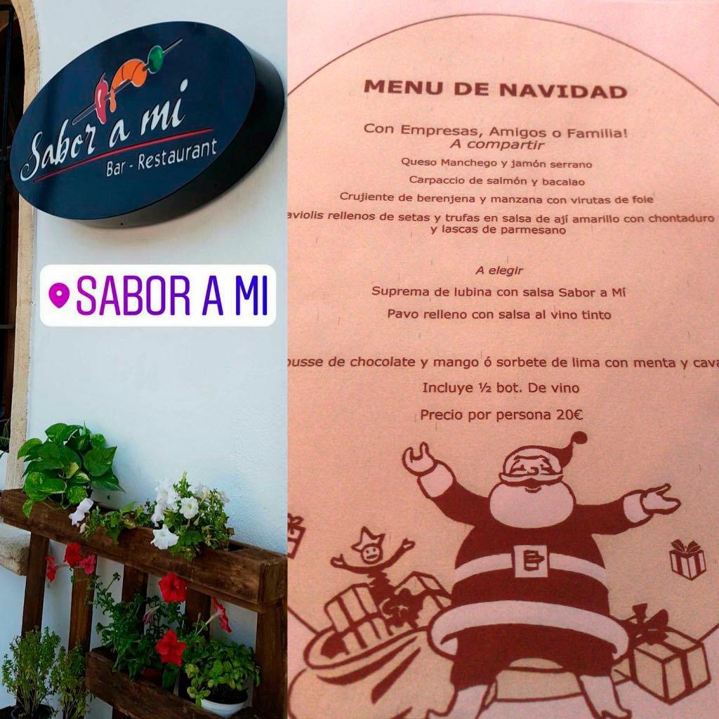Restaurante Sabor a mí Menu empresas 2017