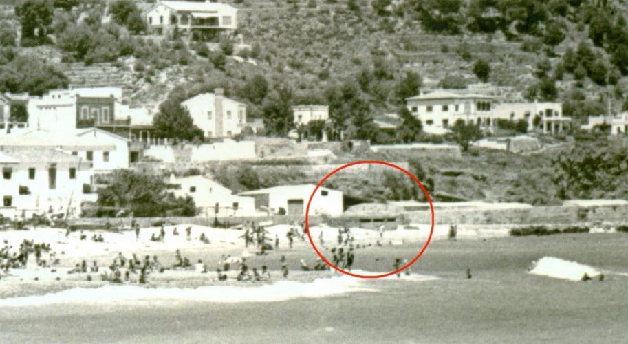 Búnker en el puerto de Jávea