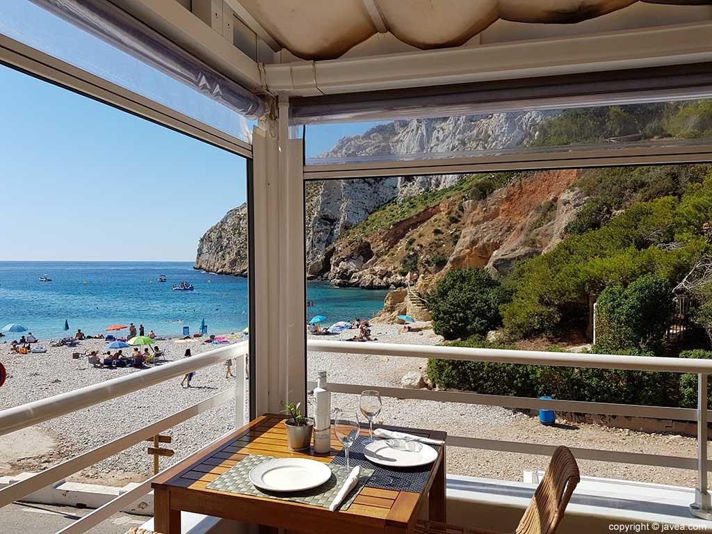 Espectaculares vistas Restaurante Sur