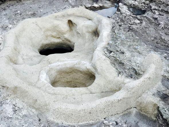 Troballa a la Cova de les Bruixes