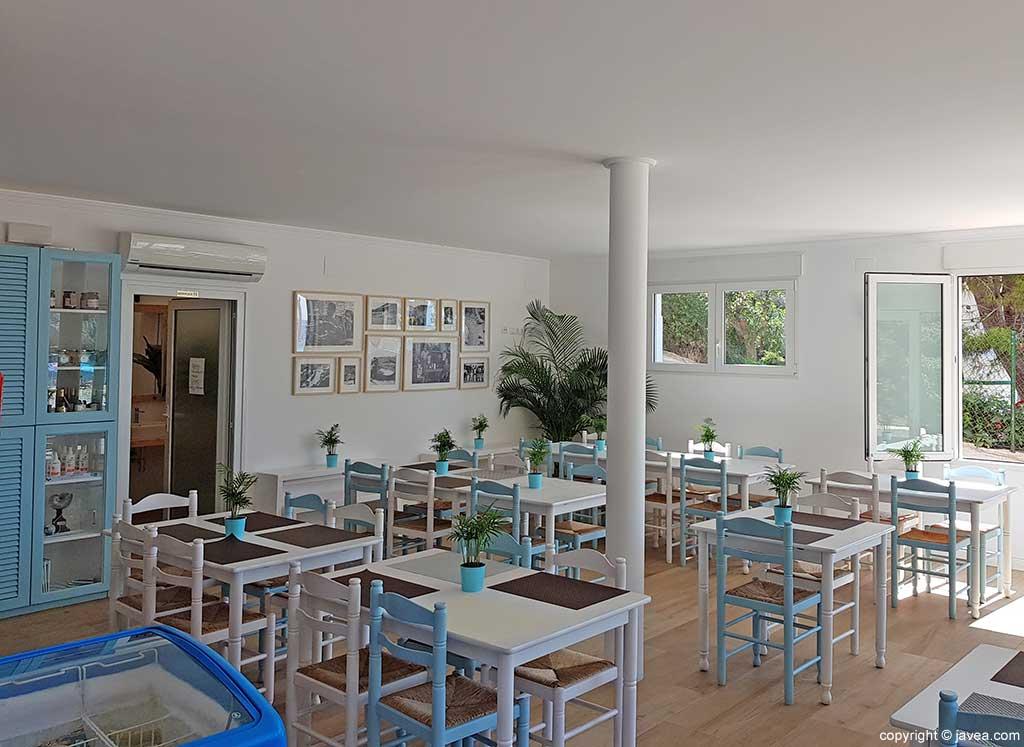 Interior Restaurante Sur