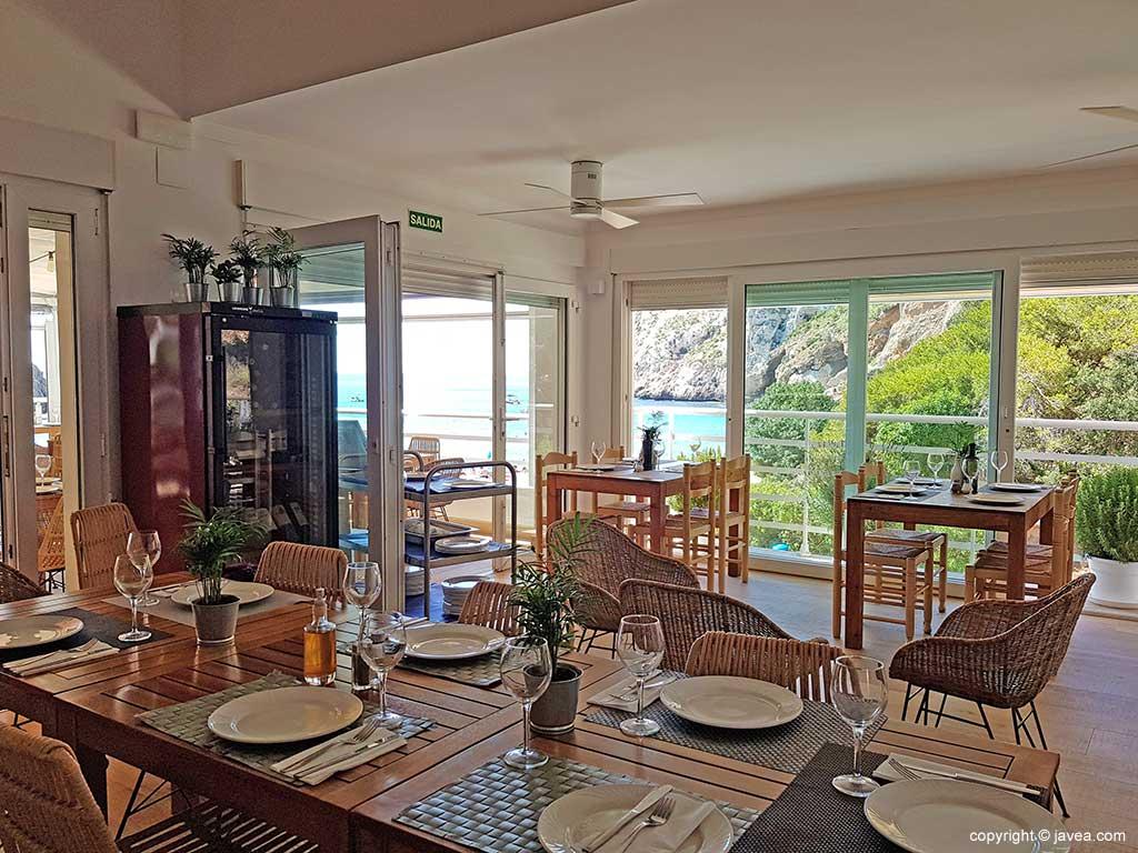 Interior Resturante con vistas Restaurante Sur