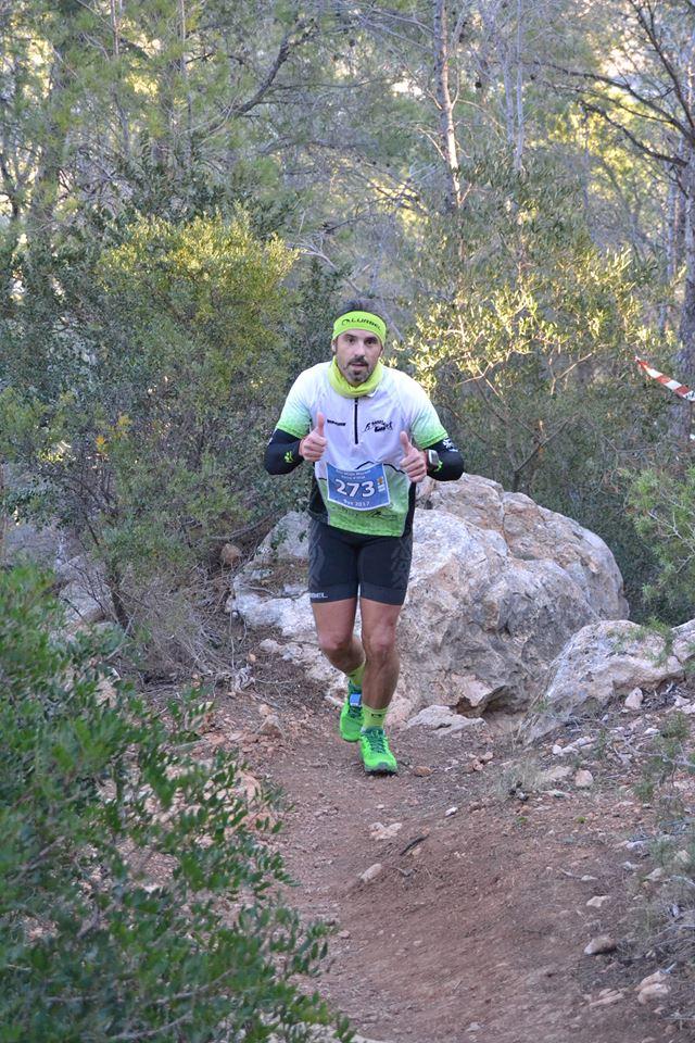Juanjo Valles en la carrera