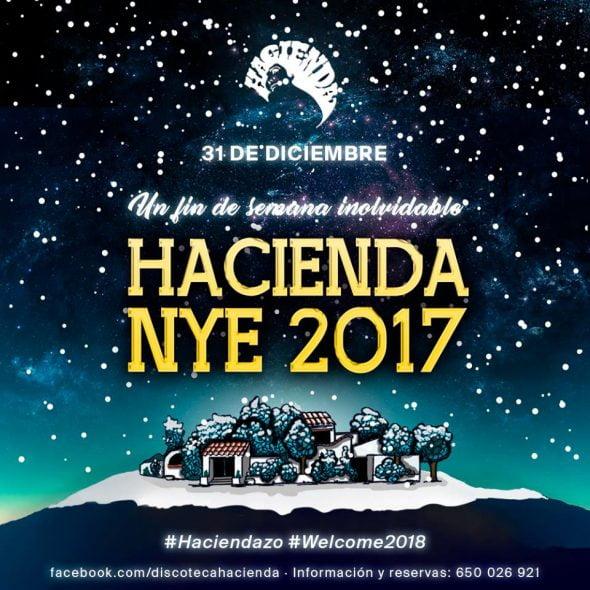 Nochevieja 2017 en Hacienda Jávea