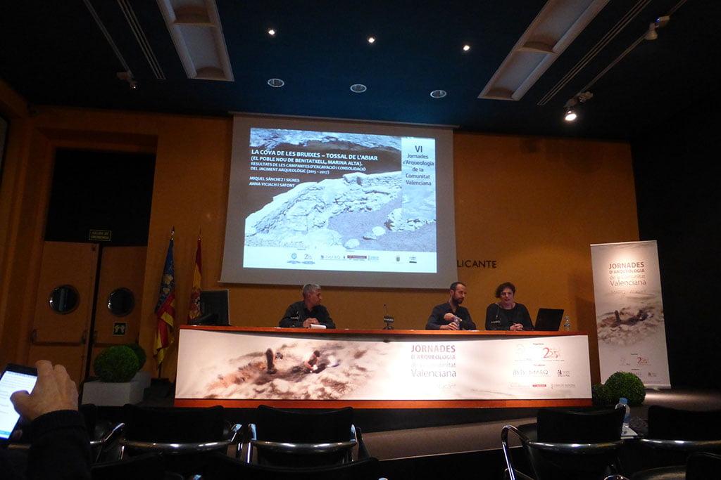 Presentació de les troballes arqueològiques