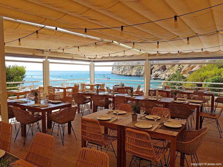 Terraza exterior Restaurante Sur