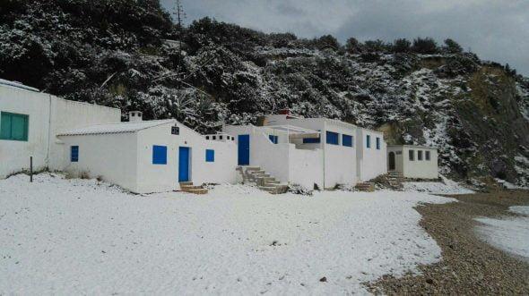 Barraca nevada.
