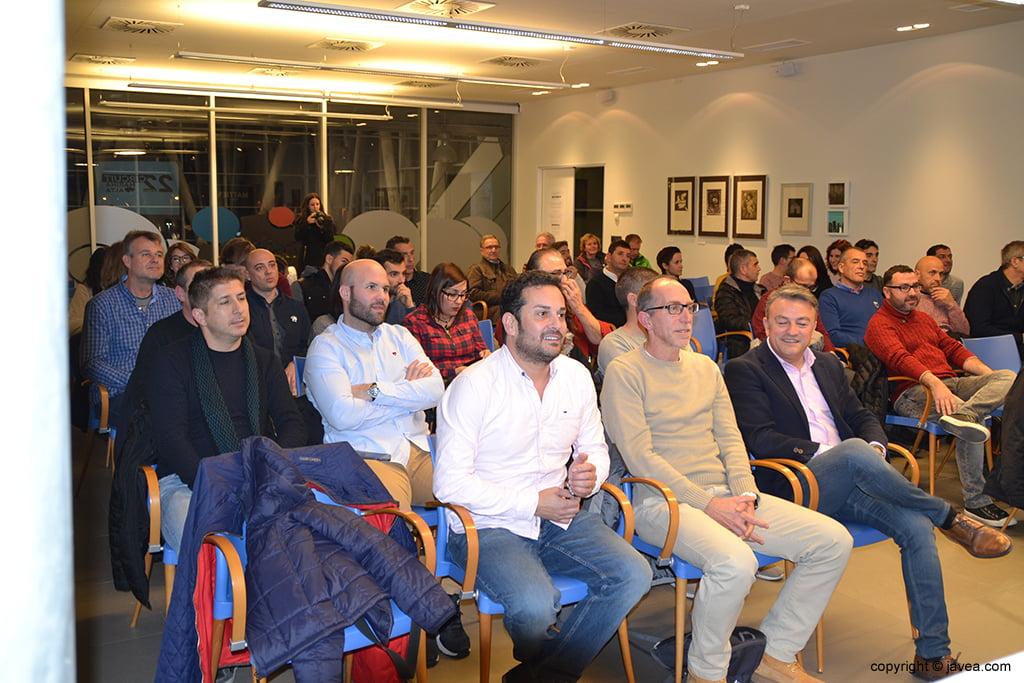 Attending the presentation of the Circuit a Peu Marina Alta 2018