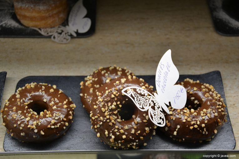 Donuts de chocolate de Dulce Vida