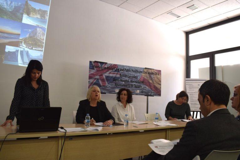 Reunión con asociaciones de ingleses de la Marina Alta