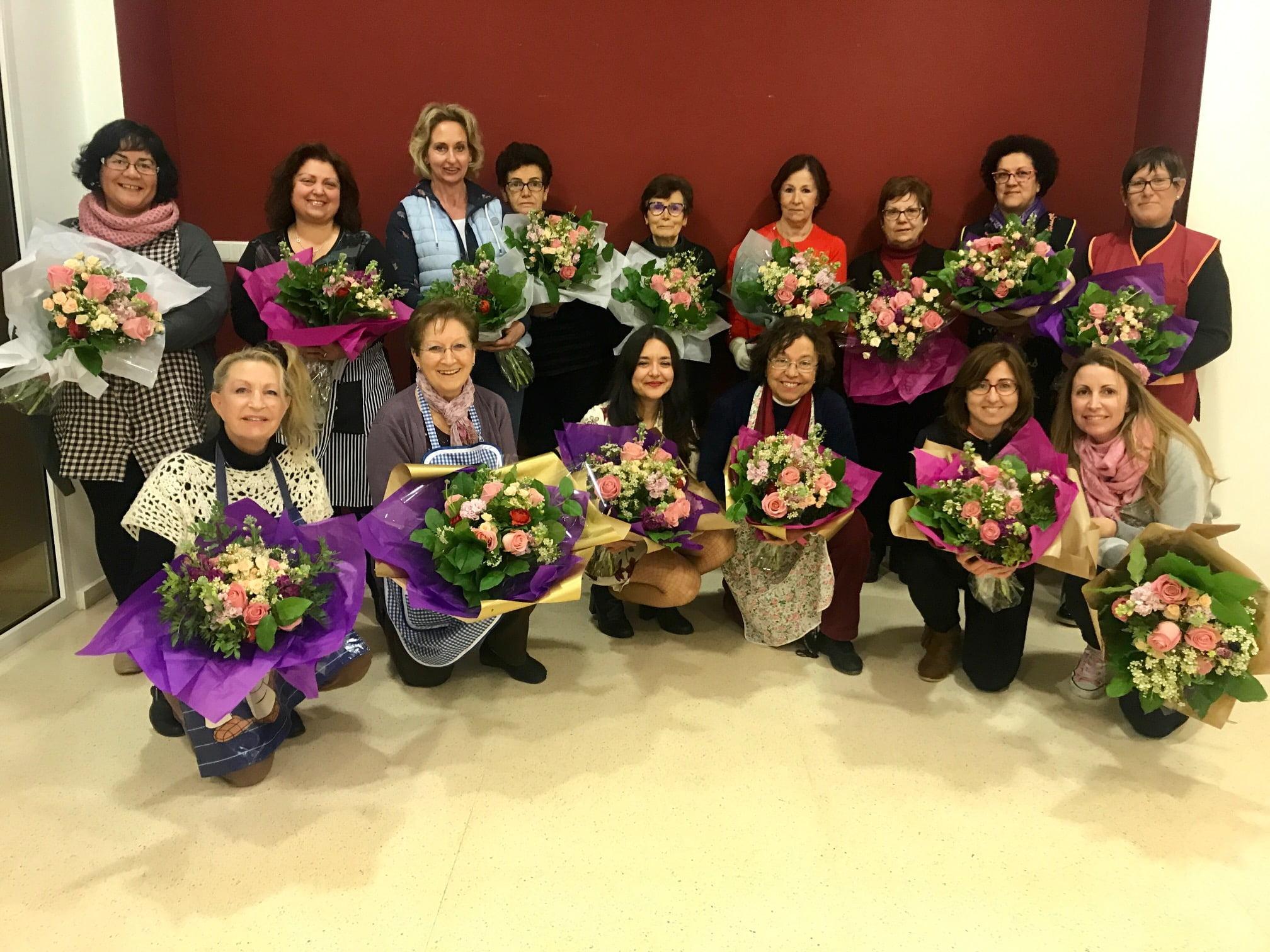 Taller de arte floral en Benitatxell
