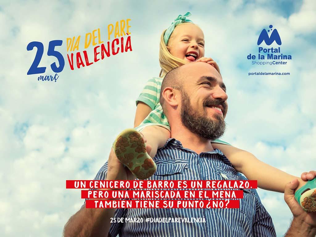25 de marzo 'Dia del Pare Valencià' Portal de la Marina