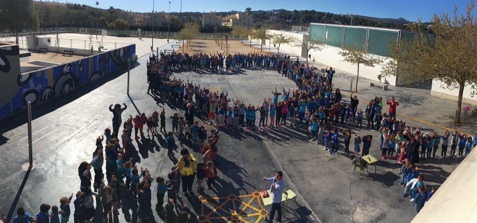 Colegio del Arenal. Día del Autismo