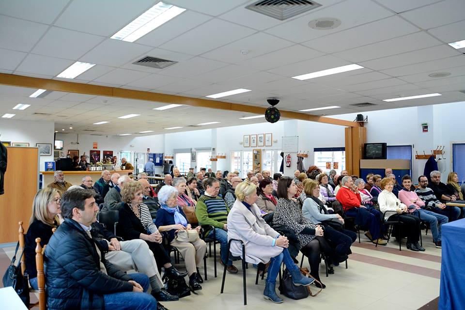 Reunión con la Asociación de Jubilados