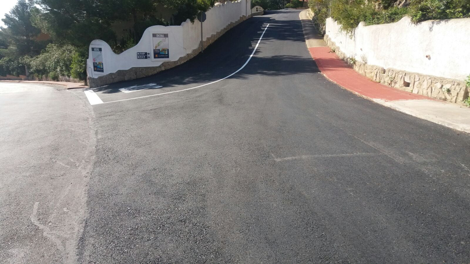 Asfaltado calles de Cumbres del Sol