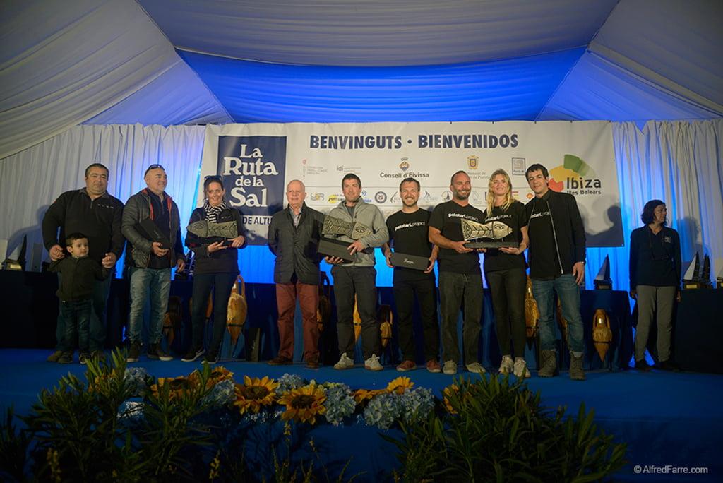 Vencedores de la 31 Ruta de La Sal