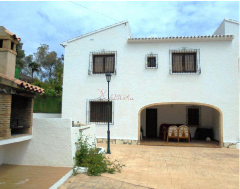 Barbacoa i terrassa Xabiga Immobiliària